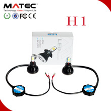 LED 12V Car LED Headlight 24W Aluminum H1 LED Headlight conversion Kit Xenon white