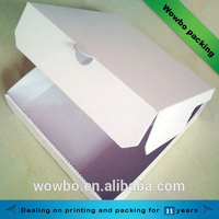 Plain cheap food cardboard packaging boxes for sale