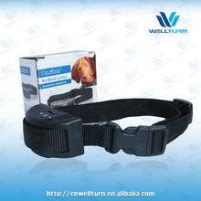 2015 barking dog obedient collar,Innovation activated bark shock collar with progressive stimulation WT748
