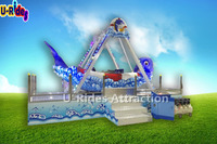 Mechancial dolphin pirate ship for kids