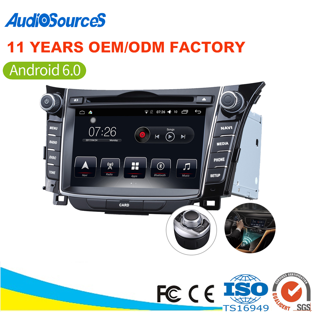 Hot Sale 2din car radio android dvd gps for Hyundai i30