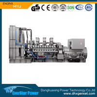 3500kva power by MTU engine (20V4000G83L),Germany made diesel generator for sale