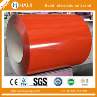Color Coated ppgi Steel Coils PPGI for Roofing Building Supply any RAL Color