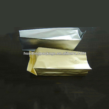 Custom printing aluminum foil coffee bag with valve package bag