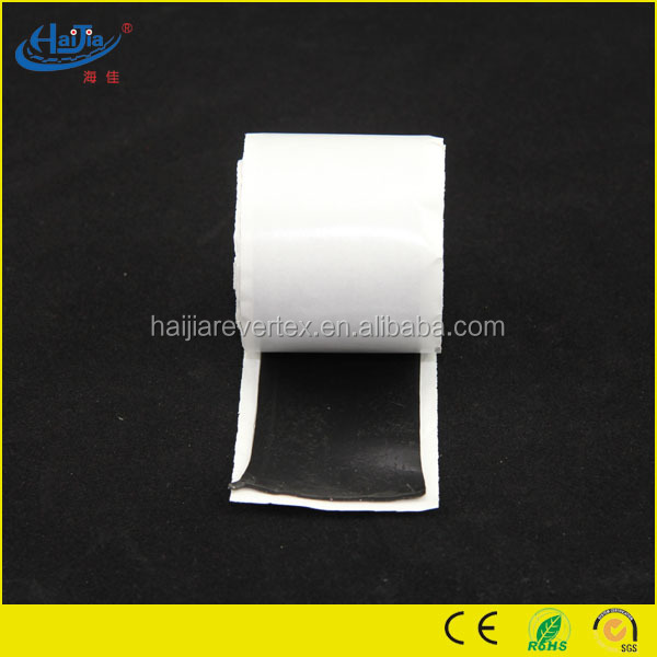 Double sided Butyl Sealing Rubber Self Adhesive Tape for under ground electrical cable joint