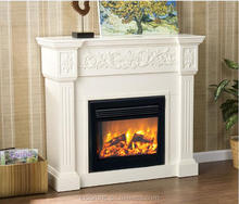 Q-02 Decorative Fake Flame Electric Fireplace