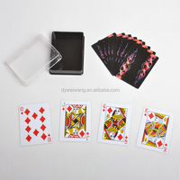 Brand new custom printed plastic playing card game for fun