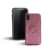 High Quality Square Sequins Magnetic Trendy  Tpu Pc Mobile Phone Cover For Iphone