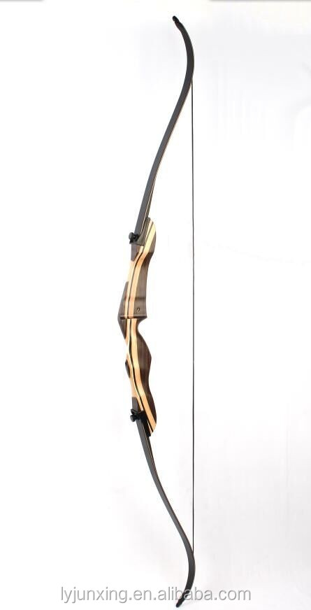 F168C wood target shooting recurve bow for beginners, whole archery bow and arrow in China
