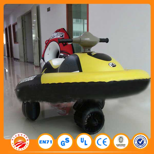 Kids exciting sport inflatable mini jet ski boat for sale