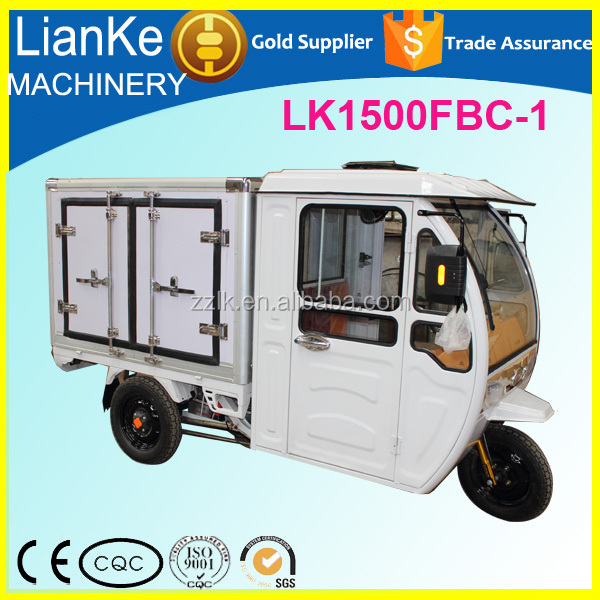 hot sale ice cream electric tricycle/three wheel food truck/adult used food trucks