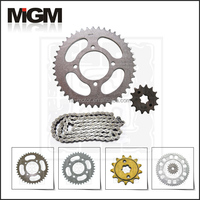 Motorcycle YBR125 chain sprocket manufacture,chain sprocket catalogue