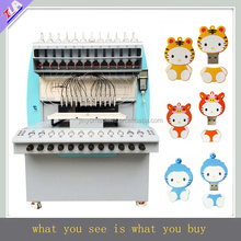 high working effort pvc USB case making machine