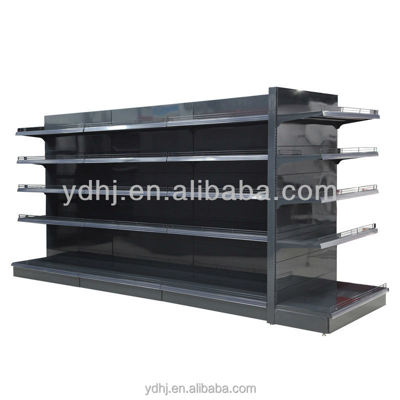 Hot Used Supermarket Gondola Display Shelf