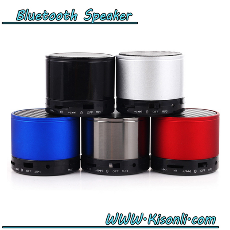 Wholesale Outdoor S10 Portable Bluetooth Wireless Mini Stereo Speaker With Mic TF AUX In FM