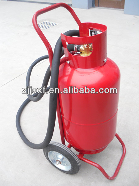 DCP/ABC/CO2 type portable Fire Extinguishers Empty with all accessories separately