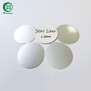Low price aluminum foil induction seal liner for bottle cap seal