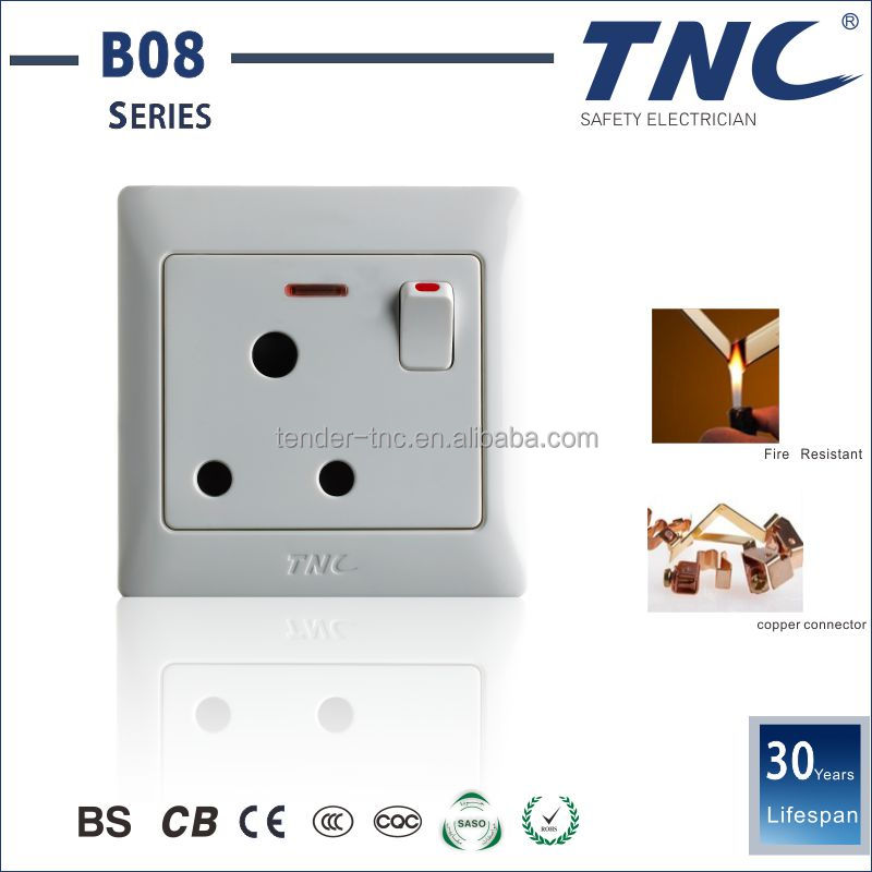 Experienced Factory Red Copper European Switch Socket