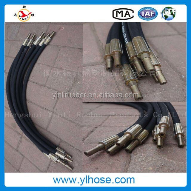 Hoses epdm wire reinforced Spiral Hydraulic Rubber hose