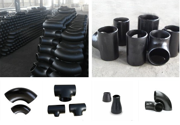 ANSI B16.9 Seamless Carbon Steel Tee Pipe Fitting(BW)