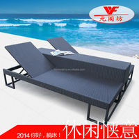 WF251-06 rattan swimming pool chair in outdoor furniture