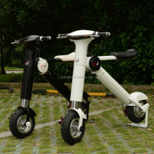 Whole sale of electric mini motorbike foldable dirt bike 350w 500w with aluminum frame