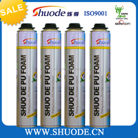 high quality 750ml spray pu foam sealant for construction