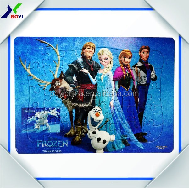 custom jigsaw puzzles/paper puzzle toy