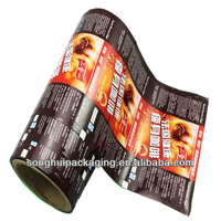 plastic coffee film/al foil coffee packaging/coffee bean film