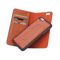 New Arrival Stand Wallet Case Cover with Card Holders for iPhone 6 plus For iPhone 6S Plus 3 in 1 Leather Case
