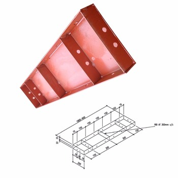 TSX-FS2040 New type steel formwork concrete wall forming systems