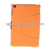 Gift leather for ipad case for ipad leather case