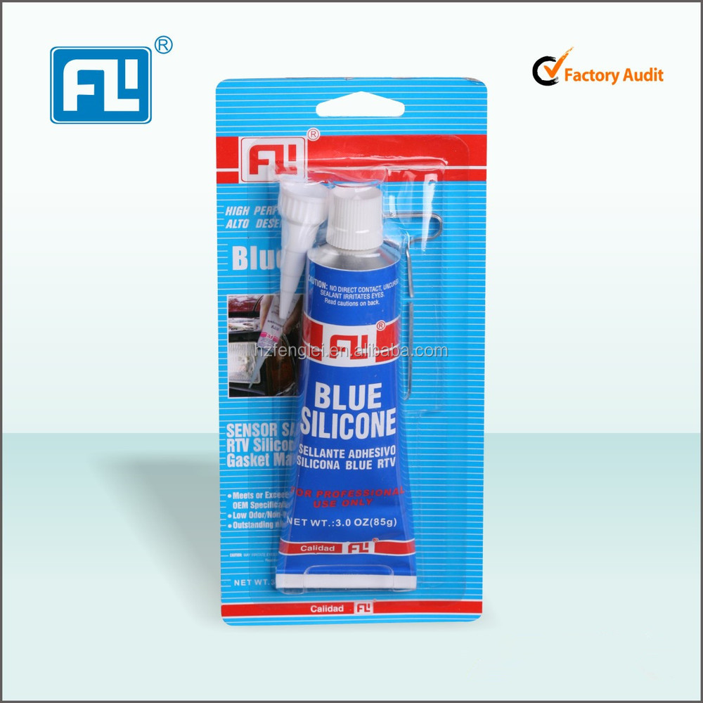 Hangzhou fenglei RTV silicone gasket maker , silicone adhesive for metal , car sealant