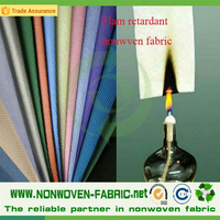 FR fabric non flammable fabric spunbonded non woven fabric