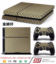 Custom Cover Skin Sticker for PS4 PlayStation 4 Console Controller
