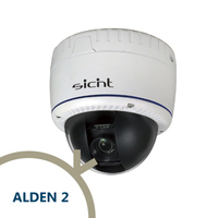SICNT | ALDEN 2 - Smart HD-SDI Vandalproof Dome Camera