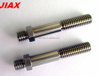 CNC Machining metal rod connector, metal swivel connector, steel rod connector