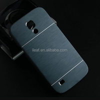 Luxury Brushed Metal Aluminium material case for Samsung Galaxy S4 mini i9190