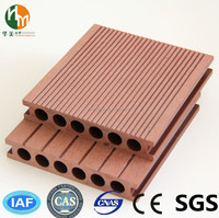 Public construction wpc outdoor wood plastic composite decking/flooring wood/timber decking