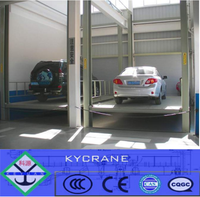widely used hydraulic garage storage lift equipment