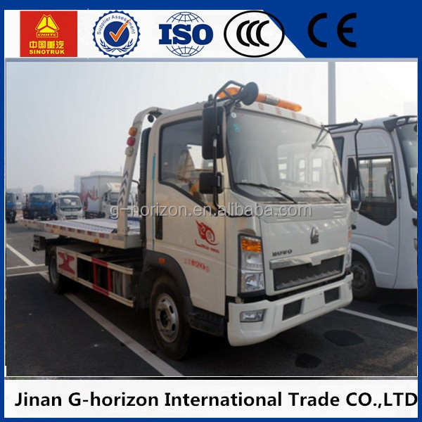 China vehicle rotator recovery truck for sale