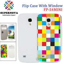 Alibaba China Custom Full Size Printed Leather Mobile Phone Cover for Samsung Galaxy S4MINI