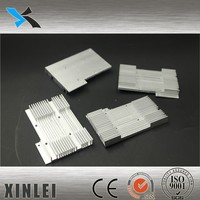 Black Anodizing Surface Heat Sink Extrusion