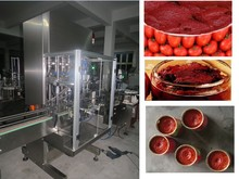factory price automatic fruit jam /paste filler machine