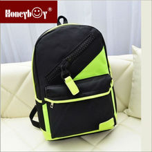 target fluorescence colour cool school bag for new design