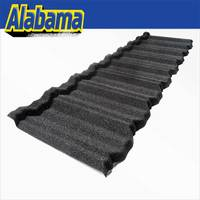Alu-Zinc Steel building construction material, high quality sand coated metal roofing tiles