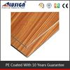 Alusign wood aluminum composite panel for texture wall cladding aluminum composite sheet