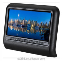 "2013 New 9"" HD removable headrest dvd players"