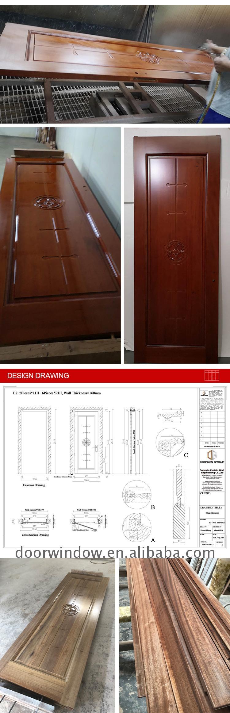 wood carving door