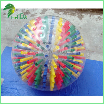 Most Popular Cheap PVC Inflatable Zorb Ball , Giant Inflatable Body Zorb Ball For Sale